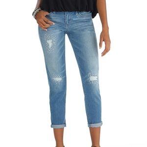 White House Black Market Embellished Jeans